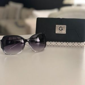 Guess wallet and Sunglasses